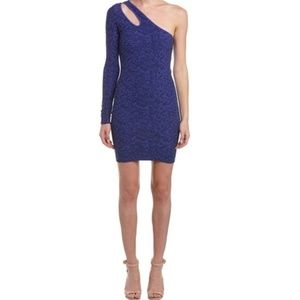 BCBG Generation One Shoulder Bodycon Mini Dress